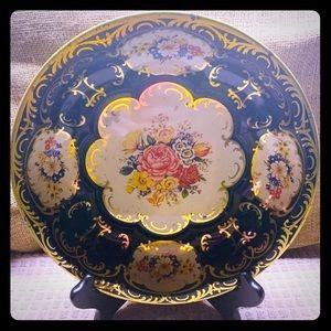 1971 Daher Tin Bowl/Tray Decorative Ware